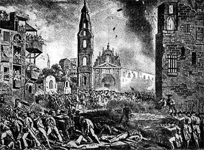 ACCADEVA LA SERA DEL 11 NOVEMBRE DEL 1799 NELLA NOTA PIZZA DI NAPOLI