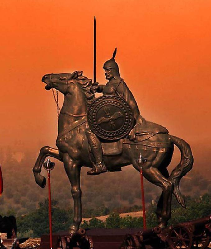 L'ARBËRESHË GIORGIO CASTRIOTA DI GIOVANNI (Kruja, il 6 maggio 1405 - Alessio, 17 gennaio 1468)