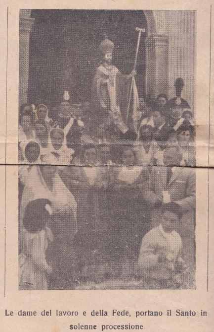 QUANDO L' ÓMAGGIO DEI SOFIOTI AL SANTO ERA SENTITO (2 Maggio1958)